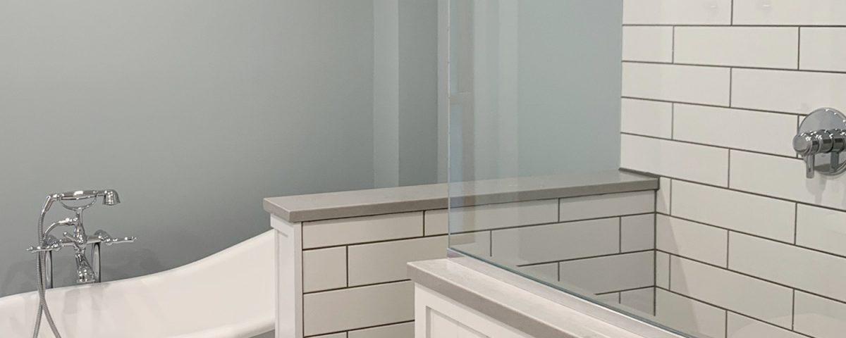 Ruhl Builds - residential design, renovation and construction - Vintage Bathroom Renovation