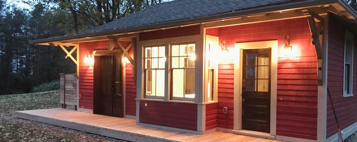 Ruhl Builds - residential design, renovation and construction - Train Station Sleeping Cabin